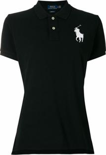 Polo Ralph Lauren Camisa Polo 'Big Pony' - Preto