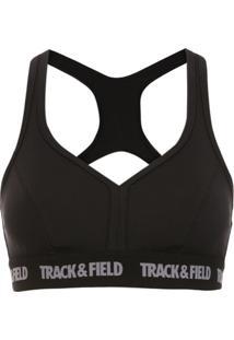 Track & Field Top 'Power' Elástico Tf Power® - Preto