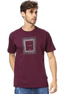 Camiseta Standard Vlcs Logotipia Malha Penteada