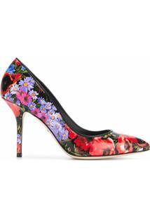 Dolce & Gabbana Scarpin Floral - Colorido