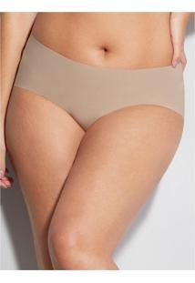 Calcinha Laterais Largas Nude Hope 3085 P/Eg Camurca