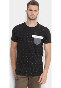 Camiseta Ecko Full Print Com Bolso Masculina - Masculino