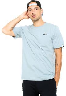 Camiseta Mcd Slim Azul
