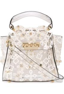 Zac Zac Posen Bolsa Transversal Eartha Mini - Branco