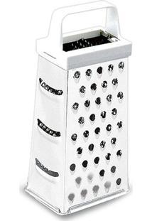 Ralador Top Pratic Com 4 Faces- Inox- 23Cm- Brinbrinox
