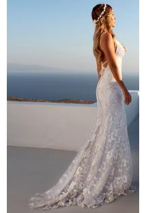 Vestido Longo Branco Casamento Noiva