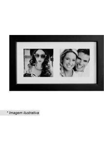 Painel Insta Para 2 Fotos- Preto & Branco- 15X28X1,5Kapos