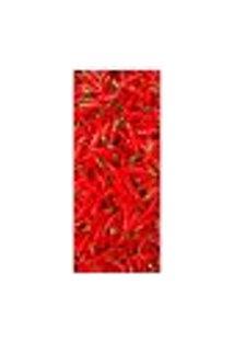 Adesivo Decorativo De Porta - Pimentas - 012Cnpt Auto Colante