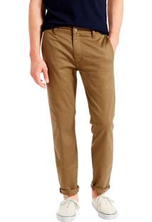 Calça Levis Masculina 511 Slim Hybrid Trouser Caqui Bege