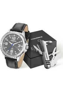 Kit Relógio Masculino Mondaine 76676Gomvnh1Ka