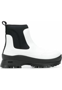 Stella Mccartney Ankle Boot Utility - Branco