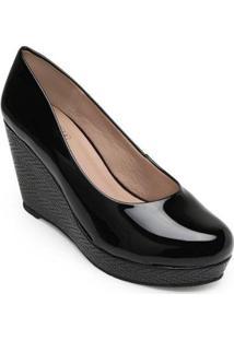 Sapato Anabela Sense Bella Feminino - Feminino