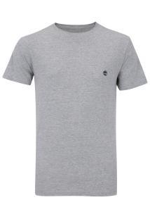 Camiseta Timberland Ss Dunstan River Crew - Masculina - Cinza