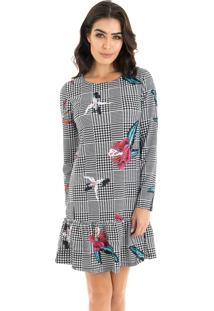 Vestido Floral Mandi feminino  cb764650adabc