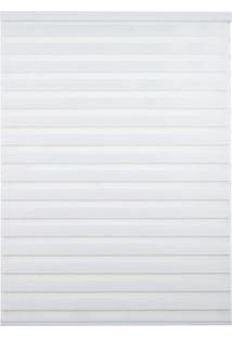 Persiana Rolo Em Poliéster Zebra 160X160Cm Branca