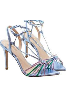 Sandalias Saltare Hebe Feminina - Feminino-Azul