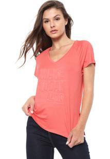 Camiseta Morena Rosa Make Today Amazing Rosa