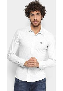 Camisa Manga Longa Rg 518 Slim Masculina - Masculino