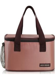Jacki Design Bolsa Térmica Cor Rosa