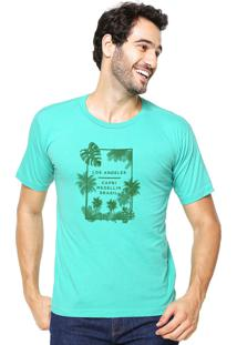 Camiseta Rgx La Capri Med Br Aqua