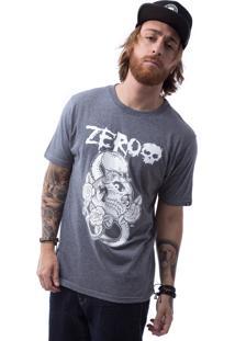 Camiseta Zero Poisonous Snake Cinza Escuro