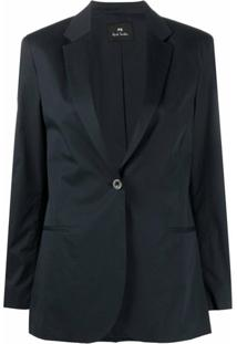 Ps Paul Smith Blazer Slim - Azul