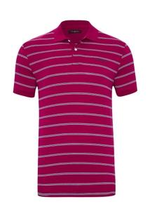 Camisa Polo Pierre Cardin Listrada Navy Masculina - Masculino