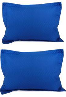 Kit Porta Travesseiro 2 Peças Matelassê 80X60 - Appel - Royal - Tricae
