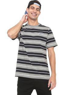 be0754fd63 Camiseta Cinza Gola Redonda feminina