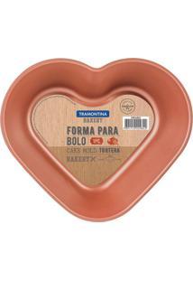 Forma Para Bolo Bakery- Bronze- 5,5X20X23Cmtramontina