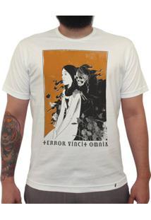 Terror Vincit Omnia - Camiseta Clássica Masculina