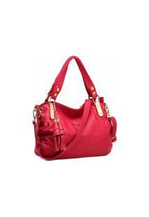 Bolsa Qfy Stylish - Vermelho Pink