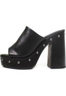 Sandália Salto Alto Rocky Damannu Shoes Napa Preto