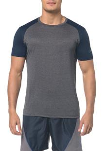 Camiseta Athletic Ck Raglan - Cinza Mescla - Pp