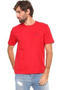 Camiseta Wrangler Collecti Vermelha
