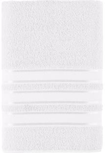 Toalha De Banho Felpuda 100% Algodão 70X130 Teka Dry Alice - Teka - Branco