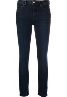 Acne Studios Calça Jeans Stretch Climb - Azul