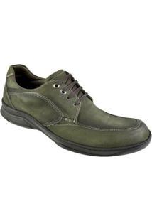 Sapato Casual Constantino Cadarço Masculino - Masculino-Cinza