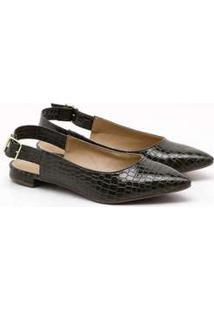 Sapatilha Charlote Shoes Croco Ii Verde