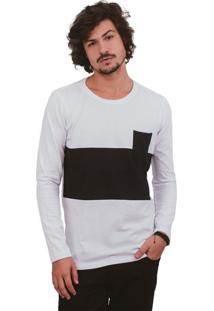 Camiseta Urbô Cotton Cold Box Branca