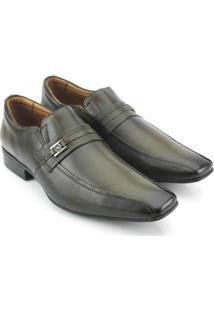 Sapato Masculino Social Teselli Marrom 40061 - Masculino-Marrom