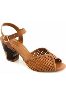 b725072f2 ... Sandália Tressê Numeração Especial Sapato Show 2594E - Feminino