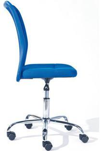 Cadeira De Escritório Giratória Bonnie Azul