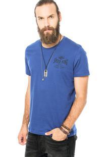 Camiseta Colcci Speed King Azul