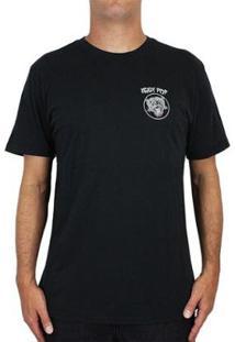 Camiseta Billabong Iggy Pop Iggy Stack - Masculino