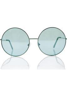 ccd16a38cde43 Morena Rosa Oculos Gatinho Lateral Vazada Marrom - Tu. Ir para a loja   Oculos Rounded Color Verde - Tu
