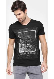 Camiseta Colcci Sound Of Silence - Masculino