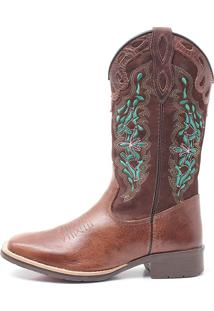 Bota Feminina Elite Country Dilley Fossil Tabaco Cafe