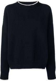 Marni Suéter De Tricô - Azul