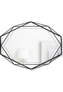 Espelho Prisma Preto 56 Cm